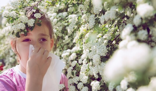 Аллергический насморк у детей